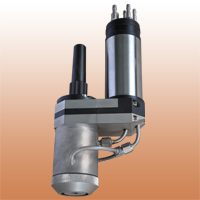 PTA torch for outside surfacing with two powder feeding systems PP-6